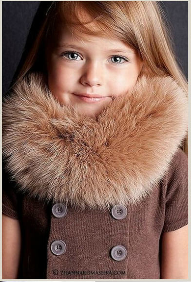 Doll-Faced Four-Year-Old Russian Model Melts Hearts, Saves World