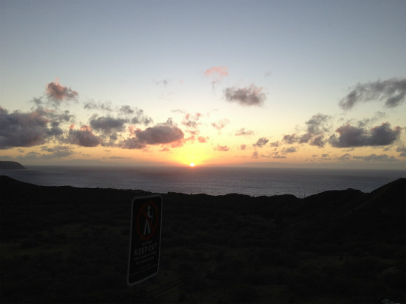 Diamond Head's Sunrises Are Unmatched Anywhere