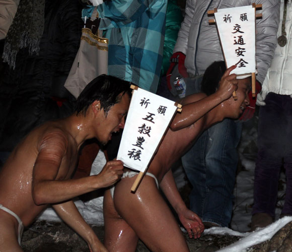 [On Location at Somin Naked Festival] I Was So Cold I Actually Thought I Was Going To Die