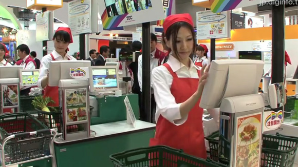 The End of Barcodes? Toshiba Unveils Register Scanners that Can See Rather than Scan