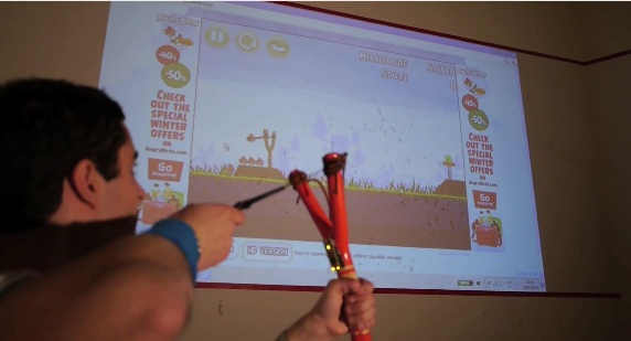 Angry Birds Fans Take Game Into Their Own Hands With Real USB Slingshot