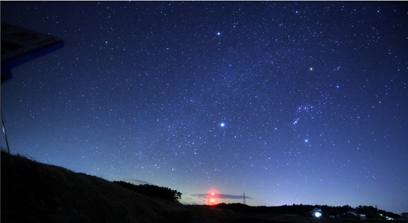 Time-Lapse Film Shot In Fukushima Ghost Town Shows Amazingly Beautiful Starry Skies