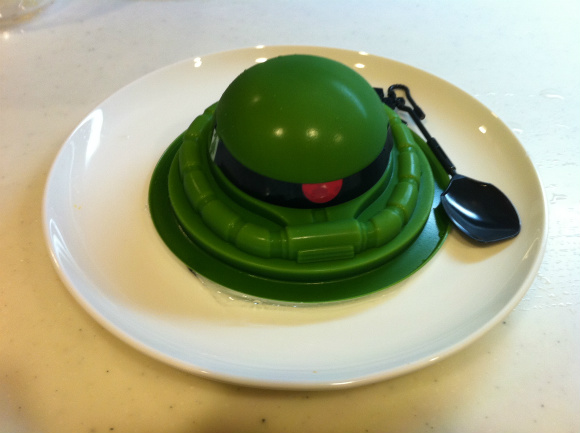 Popular Japanese Anime enters the food world in soft green form – No, it's not Jello-O but it still tastes good