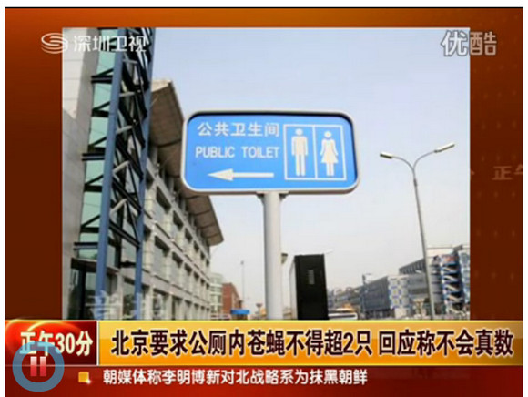 Rejoice! Deal with Two Flies Max under Beijing's New Public Toilet Standards