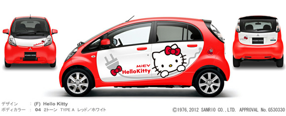 Mitsubishi's Newest Line of Cars Asks: Guys, Just How Comfortable Are You With Your Sexuality?  Hello Kitty Comfortable?