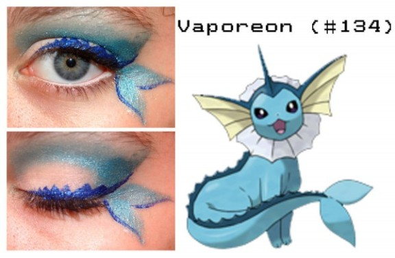 Here's to your beautiful Pokemon Eyes! These anime-inspired eye make-up designs are dazzling!