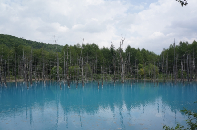 "We Head to the Location of OS X Mountain Lion's Desktop, ""Blue Pond"" and Soak In the Mysterious Beauty First Hand"