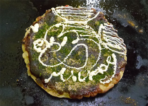 Okonomiyaki Mayonnaise Art is the New Latte Art, We Visit Pioneer Restaurant in Osaka