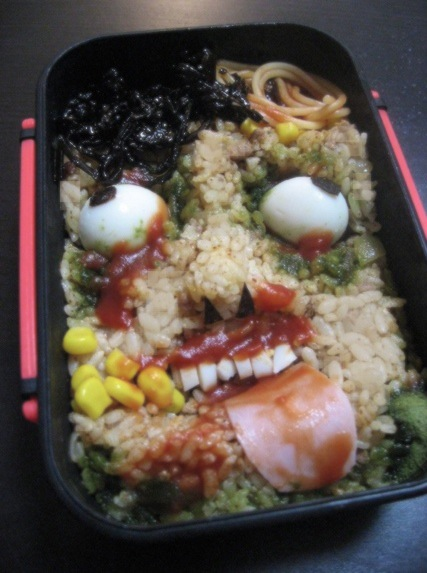 How to Make a Horror Bento, Perfect for Fights with Loved Ones