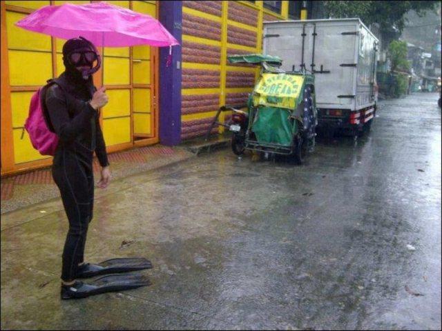 Filipinos Remarkably Upbeat During Massive Flood