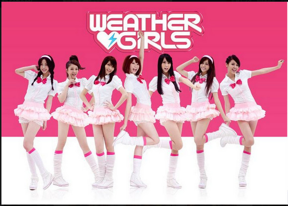 "Taiwan's Weather Girls Form Girl Group in Japan, First Single ""Weather Forecast of Love"" Coming This October!"
