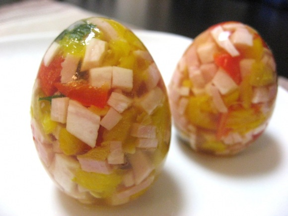 Jellied Eggs, Pleasing to the Eye and Good for the Skin