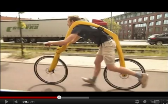 """Germans Invent Bicycle With no Pedals, Offers """"Ergonomic Ride Between Running and Biking"""""""