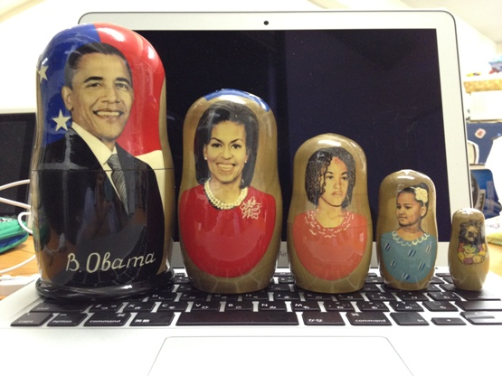 Obama Family Matryoshka Dolls Found in Sakhalin, But Something's Wrong With Bo…
