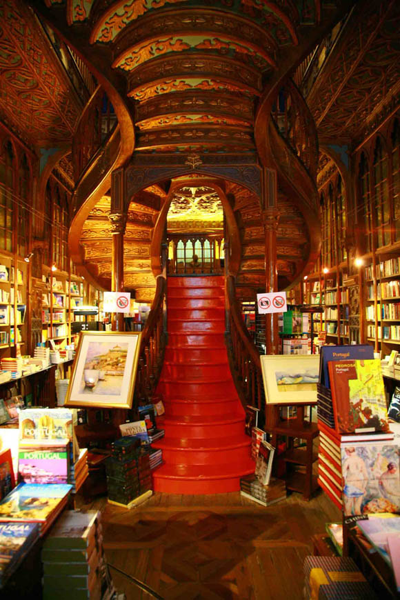 We Lose All Sense of Time and Space in the Magical and Beautiful Lello & Irmão Bookstore