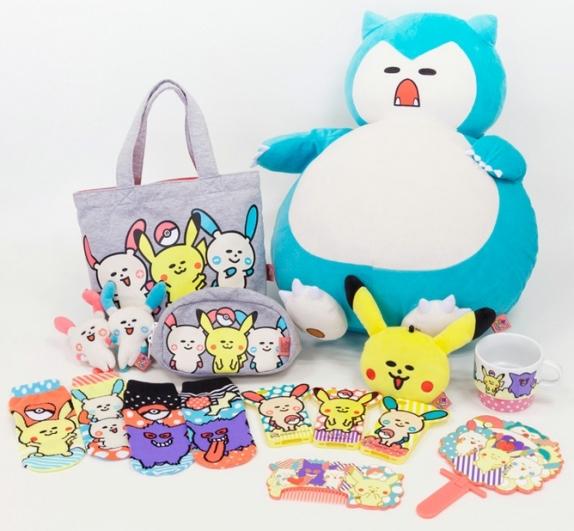 "Adorable New ""Pokemomo"" Brand Goods Coming to Pokemon Center Stores Across Japan"