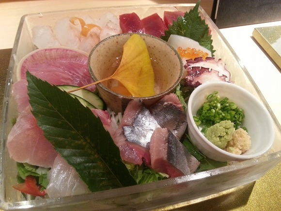 Great Tasting Sashimi Dishes For Very Reasonable Prices—in Ginza Nonetheless!