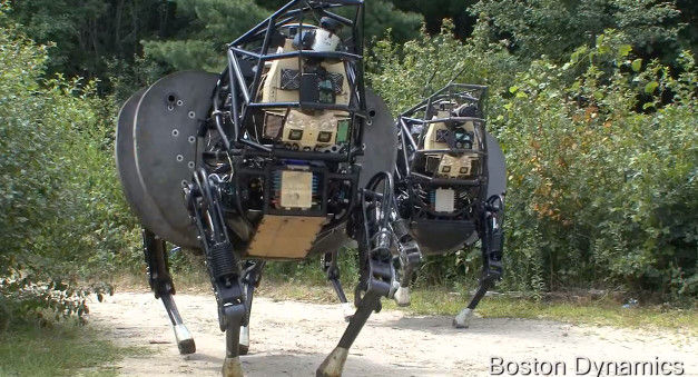 U.S. Marines Latest Robot Tested Outdoors, Japanese Net Thinks It Looks Like a Homo