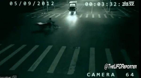Teleportation Caught on Chinese Traffic Cam!