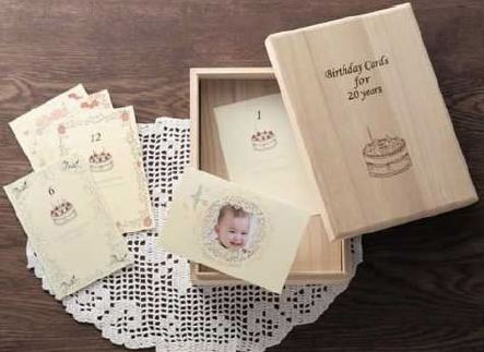 The Perfect Gift for New Parents: 20-Year Birthday Card Box-Set Guaranteed to Jerk a Few Tears