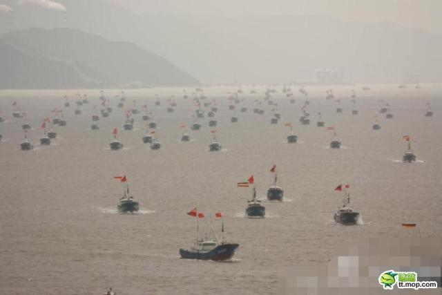 China Reportedly Sends Fishing Boat Armada to Senkaku Islands, Fails to Show Up but a New Challenger Approaches