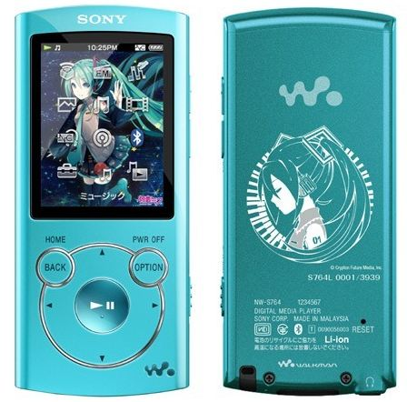 When Fandom Gets Silly: Hatsune Miku Limited Edition Walkman Sold at Auction for Insane Price