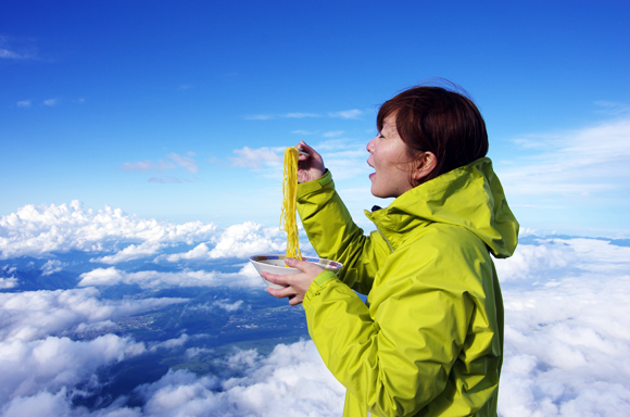 Our Top 3 Meals of Mt. Fuji! (Because It's Not All About the Climb)