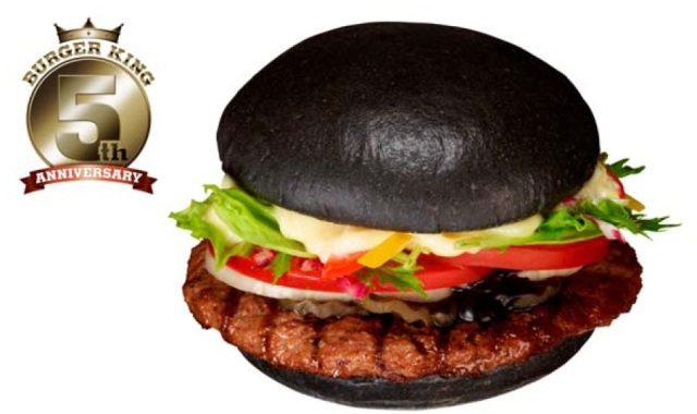 Burger King Hopes Once You Go Black, You Never Go Back with their new Kuro Burger