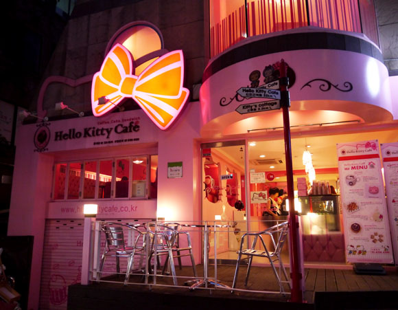 The Cakes at Seoul's Hello Kitty Cafe Are So Cute, You'll Feel Bad Mutilating the Face of the World's Most Beloved Cat