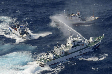 Japan Starts High Seas Squirt-Gun Fight With Taiwan, Pushes Fishing Boat Flotilla Out of Contested Waters