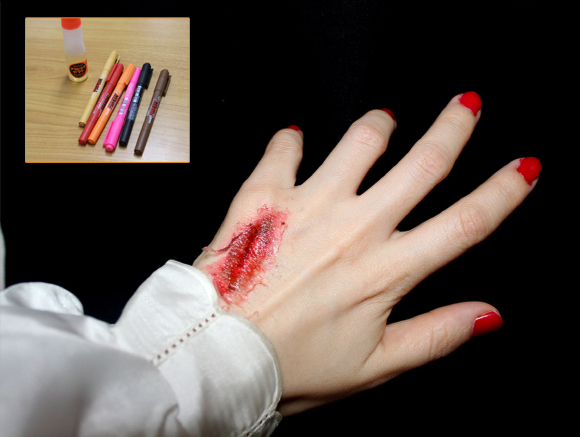 [Perfect for Halloween] Make Your Own Gaping Flesh Wound Without Wounding Yourself!