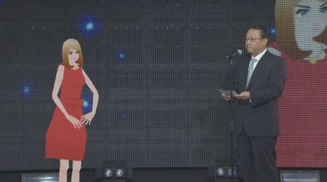 "Fuji TV Introduces Awkward ""Digital Announcer,"" No One Sure if They're Supposed to take Her Seriously"