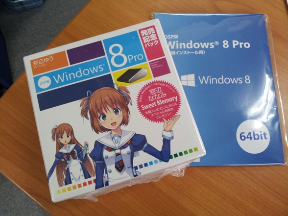Cute Anime Girls Driving Sales of Windows 8 in Japan