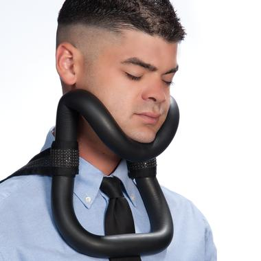 Like to Sleep on Public Transportation?  Protect Ya Neck with the UpRight Sleeper