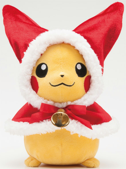 A Very PokeChristmas: Pokemon Center Announces 2012 Christmas and New Year's Goods