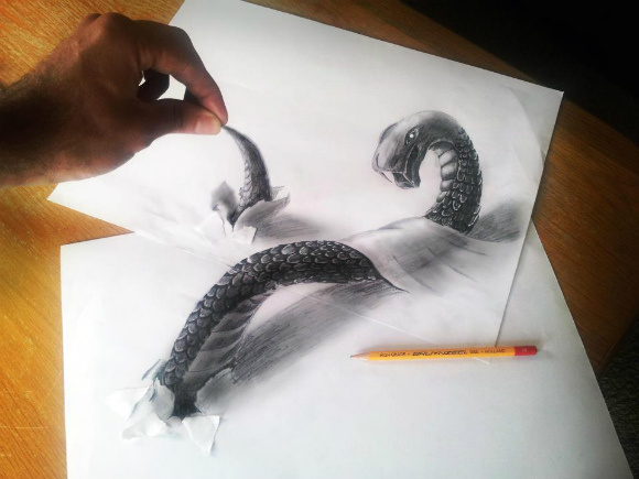 Ultra-Realistic Drawings Look So Uncannily Lifelike They Jump off the Page