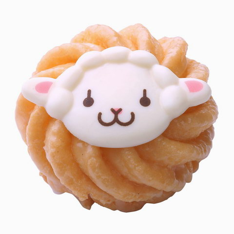 Mister Donut Limited Edition Lamb French Cruller Doughnut