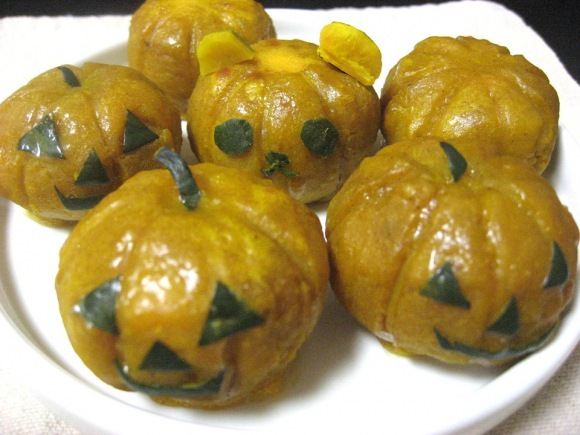 Can't Be Bothered with Halloween Decorations? Celebrate with These Cute Mini Pumpkin Dumplings!