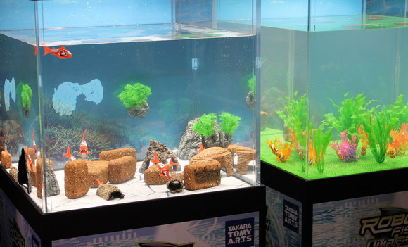 Robotic Tropical Fish Give Hope to Lazy Pet Owners
