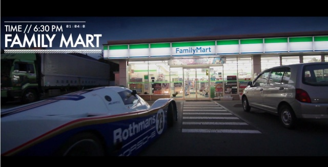 Japanese Man Takes Customized Street Legal Porsche 962C for Sunday Drive, Goes to the Convenience Store