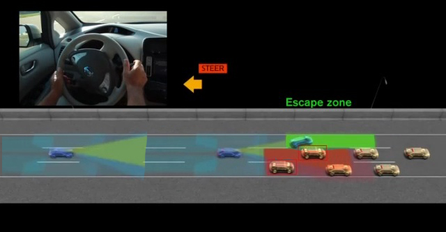 Nissan's New Safety Technology Wrestles Control of the Wheel from Drivers Facing Doom