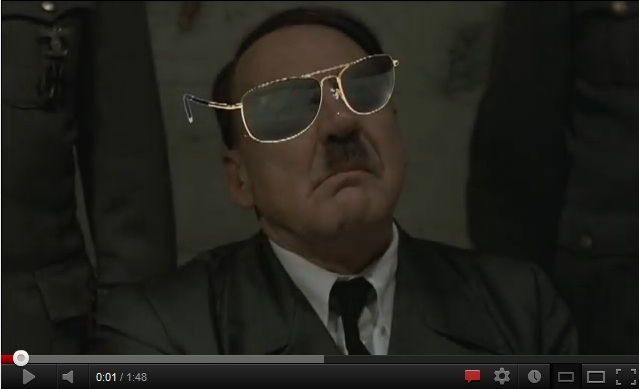 Viral Video Worlds Collide: Hitler Raps to Gangnam Style