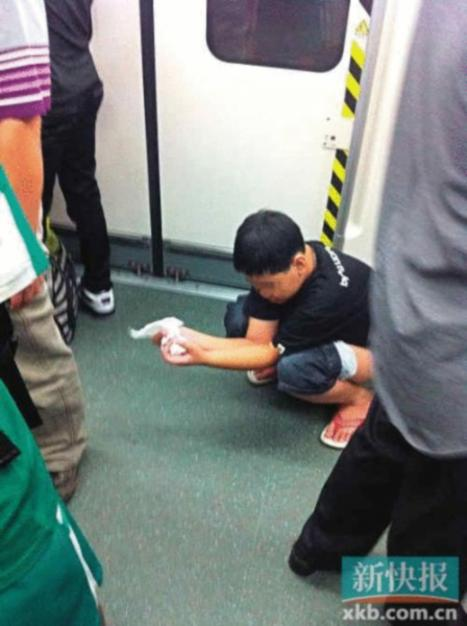 From Spitting to Sh*ting: China's Ten Worst Subway Manners