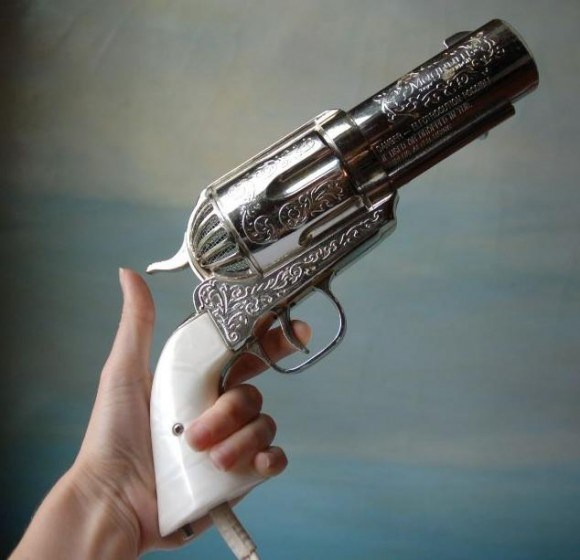 Blow Your Hair Out with this Colt Peacemaker Hair Dryer