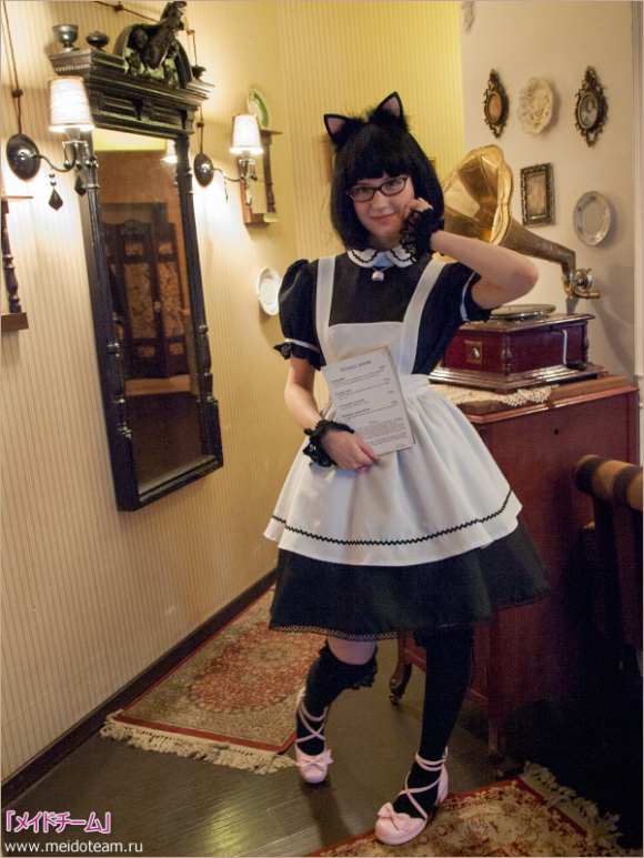 Moscow's First Maid Cafe is Russian-Made, Japan-Approved