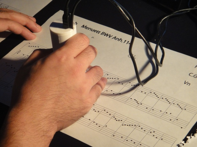 Musical Magic! From 2-Dimensional Notes to Real Music With the Swipe of a Scanner