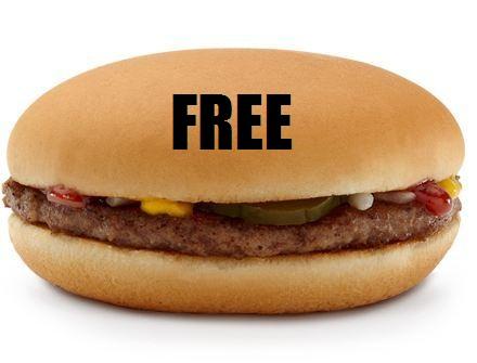 【Cheapskate News】 McDonald's Japan Giving Away Free Hamburgers (Again)