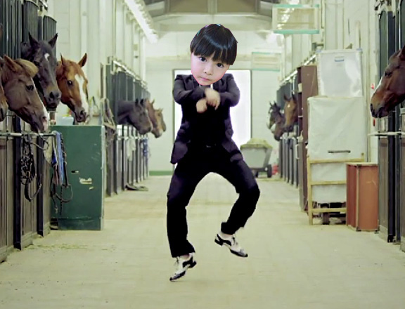 Gangnam Style as Performed by an Adorable 4-Year-Old Japanese Girl