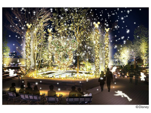 Disney's Dreamland Illuminations in Harajuku Light up Your World, You Won't Want to Go Home