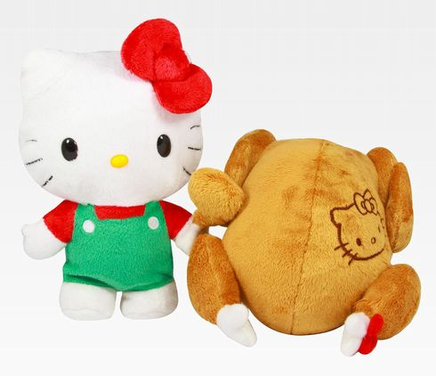 Hello Kitty Now Serving Herself Up as Main Dish for Thanksgiving!